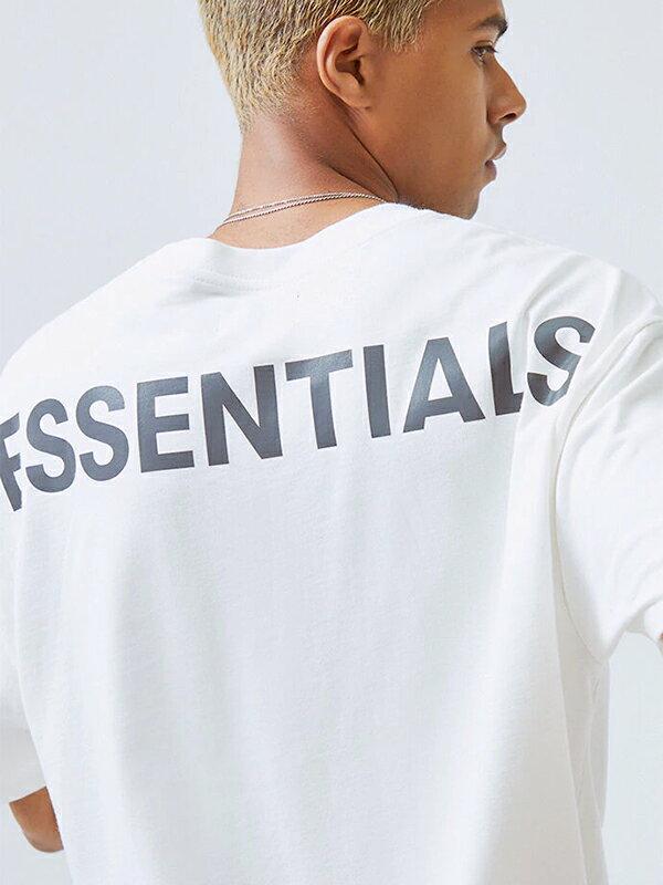 トップス, Tシャツ・カットソー Fear of God essentials T FOG ESSENTIALS F.O.G Boxy REFLECTIVE REFLECTIVE-SS-W