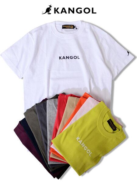 KANGOLカンゴールTシャツメンズレディースユニセックス半袖ブランド大きいサイズビッグシルエットスポーツ綿100%おしゃれ白黒