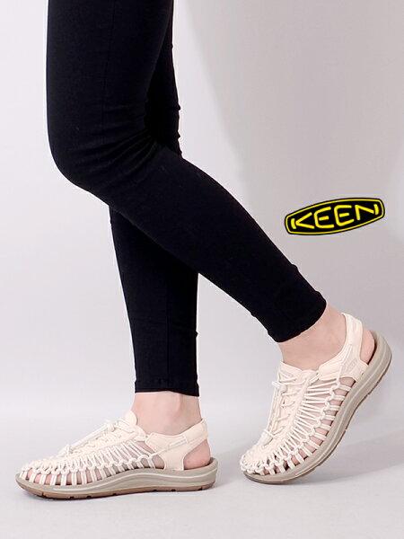 KEENキーンサンダルレディースおしゃれかわいいブランドぺたんこ歩きやすいおしゃれユニークUNEEKスポーツサンダルスニーカービ