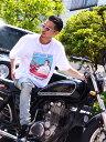 正規取扱店 666 MY WAY MAN T-Shirt (マイウェイマンTシャツ) Rマーク レッド MYT0003