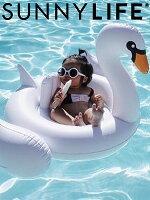 ファッション,メンズ,コーディネート,トップス,ボトムス,通販,SUNNYLIFE,サニーライフ,浮き輪,ベビースワン,ホワイト,Baby,Float,Swan,子供用,キッズ,ジュニア,sulbabsw