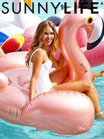 ファッション,メンズ,コーディネート,トップス,ボトムス,通販,SUNNYLIFE,サニーライフ,浮き輪,フラミンゴ,ビッグサイズ,Luxe,Float,Flamingo,Rose,Gold,sullflfd