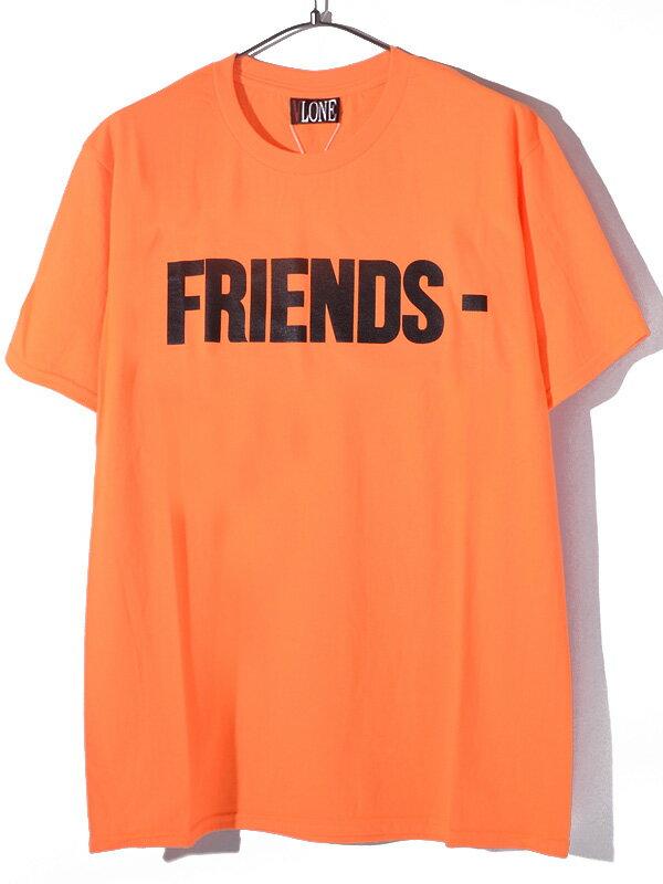 トップス, Tシャツ・カットソー VLONE T FRIENDS TEE AAP Mob ASAP BARI Ian Connor Kanye West FRIENDS-SST-OB
