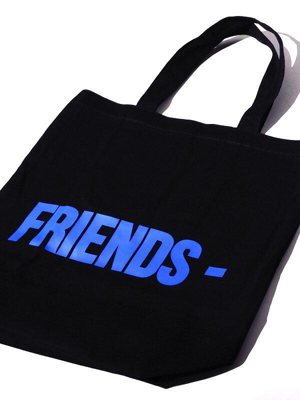 メンズバッグ, トートバッグ VLONE FRIENDS TOTE BAG AAP Mob ASAP BARI Ian Connor Kanye West V-FD-TBF-B