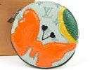 本物 極美品 LOUIS VUITTON ルイヴィトン コントドゥフェ モノグラムミニ×エピ コインケース キャンバス カーキ レディース【中古】