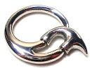 ボディピアス 12G 変形キャッチリングトライバル[軟骨ピアス 軟骨 ピアス 軟骨用 ピアス][ボディーピアス](1個売り)◆選べる福袋対象◆◆オマケ革命◆