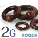 ボディピアス 2G キャプティブビーズリング ウッド素材(1個売り)◆選べる福袋対象◆◆オマケ革命◆
