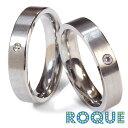 サージカルステンレスリング 指輪 ペアリング ワンポイントジュエル (1個売り)◆選べる福袋対象◆◆オマケ革命◆