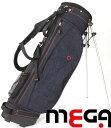楽天【MEGA・JP】 軽量デニムスタンドキャディバッグ 個性を楽しもう 【MGCB-7021】【8インチ】 02P05Nov16