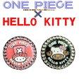 【ONE PIECE & HELLO KITTY Ball Marker】 ワンピース チョッパー & ハローキティ コラボ クリップ ボールマーカー 【メール便対応商品】【X-803】【X-804】