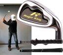 【広田ゴルフ】 Roger King Heavy Training Short Iron 57cm・1.15kg / 800g ロジャーキング 飛距離アップ!! スイング練習機 【室内でも振れます】【グリップもチョイス!】 02P05Nov16