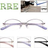 メガネ 度付き ハーフリム WB3301 49サイズ レンズ付き眼鏡セット ナイロール メタル メガネ通販