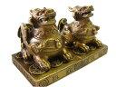 銅器 ミニ貔貅(ヒキュウ) 風水 開運 置物 銅製 金運 ギャンブル運
