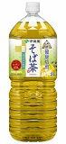 ●伊藤園 伝承の健康茶 健康焙煎 そば茶 PET 2L x6本x2ケース