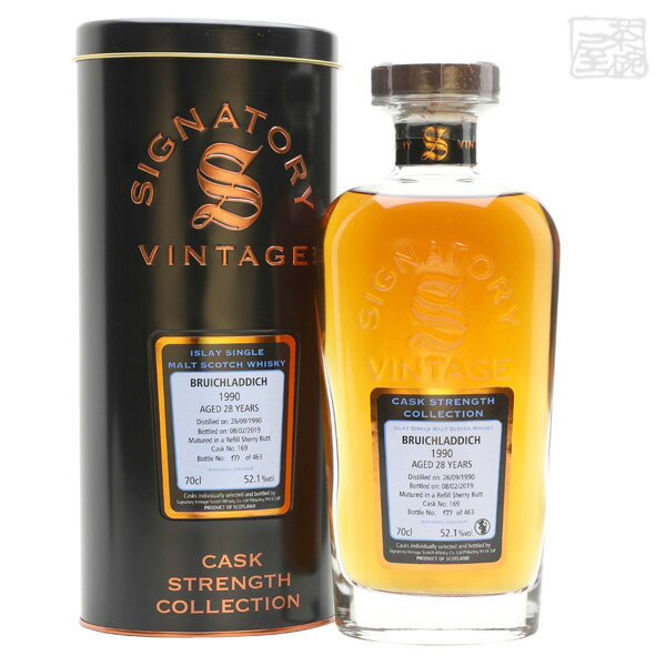 スコッチ・ウイスキー, モルト・ウイスキー SV 1990 28 52.1 700ml