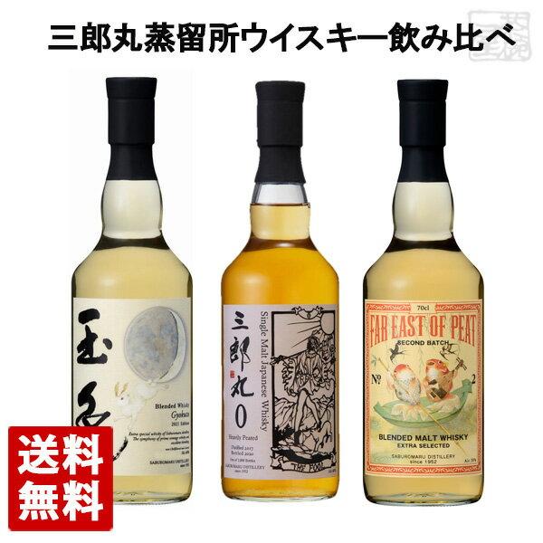 三郎丸蒸留所 ウイスキー 飲み比べ 3本セット