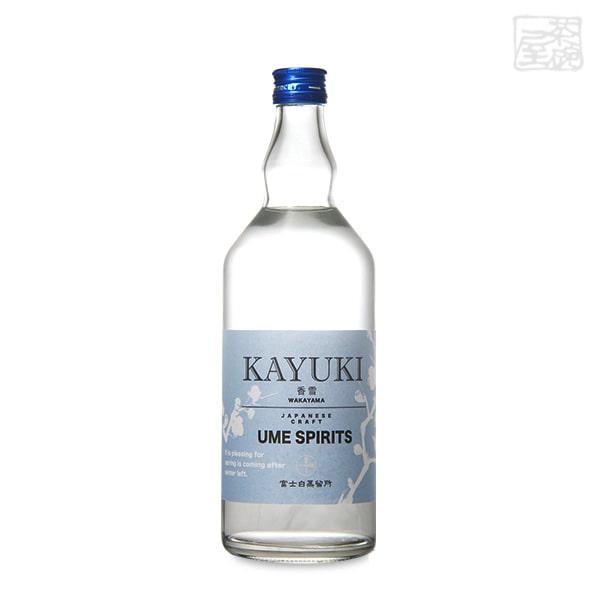 和製スピリッツ 香雪 KAYUKI