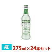 スミノフアイス グリーンアップルバイト 5度 275ml 24本セット 1ケース 瓶 リキュール チューハイ カクテル