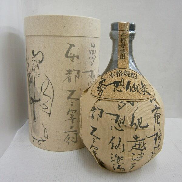 麦焼酎 夢想仙楽 40% 720ml*1ケース(12本):酒の茶碗屋