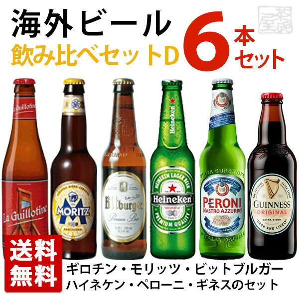 海外ビール飲み比べ6本セット
