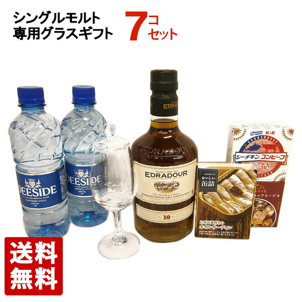 シングルモルトウイスキーと専用グラスギフトセット