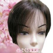 人毛ウィッグショートワイドモノフィラメントネット使用人毛ウィッグsc-hm01