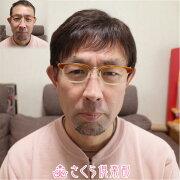 メンズウィッグ男性かつら人毛100%MM004