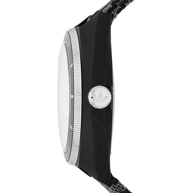 アディダス adidas スタンスミス ADH3155 Stan Smith メンズ レディース ユニセックス クオーツ式 腕時計 ブラック アナログ 時計 ブランド 安い スポーツ おしゃれ 20代 30代 40代 シンプル 男女兼用 プレゼント ギフト バレンタイン ホワイトデー クリスマス