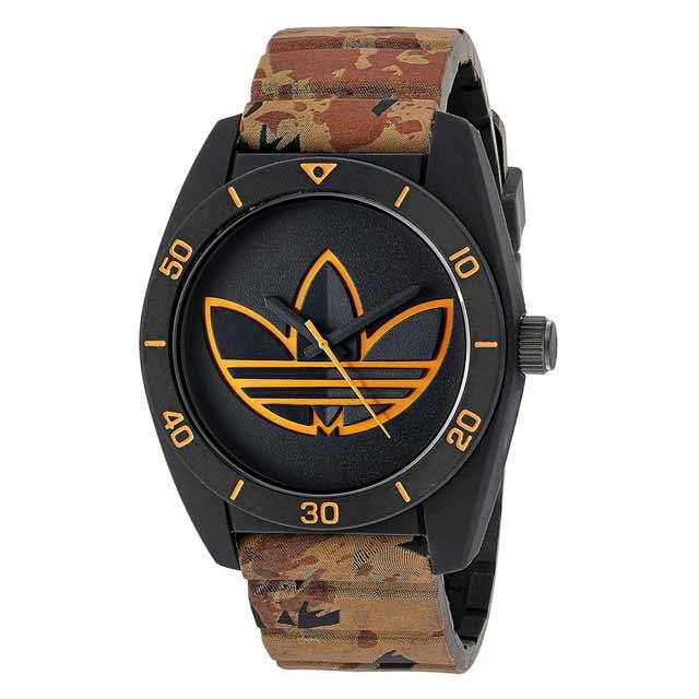 アディダス adidas サンティアゴ ADH3200 Santiago メンズ レディース ユニセックス クオーツ式 腕時計 ホワイト アナログ 時計 ブランド 安い スポーツ おしゃれ 20代 30代 40代 シンプル 生活防水 文字盤大きめ 男女兼用 プレゼント ギフト ホワイトデー クリスマス