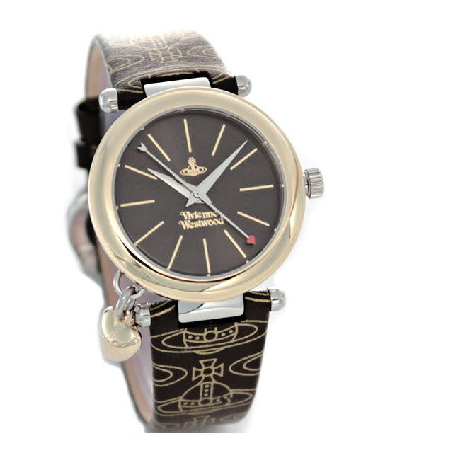 Vivienne Westwood(ヴィヴィアンウエストウッド) オーブ・プリントストラップ・レディス・ウオッチ VV006BRBR レディース腕時計 ブランド