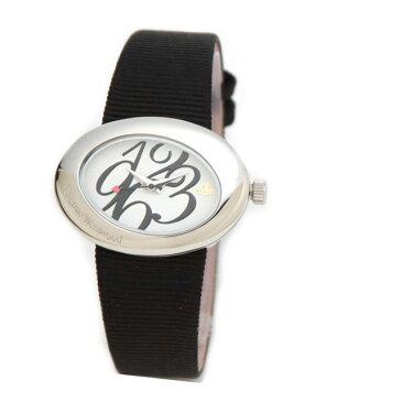 Vivienne Westwood(ヴィヴィアンウエストウッド) レディス・ウオッチ レディース腕時計 ブランド レザーストラップ VV014WHBK