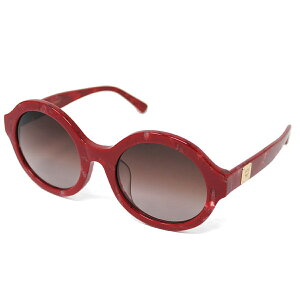 MCM MCM太阳镜MCM609SA 615防紫外线女士红色棕色渐变眼镜度假村旅游海外海滩礼物