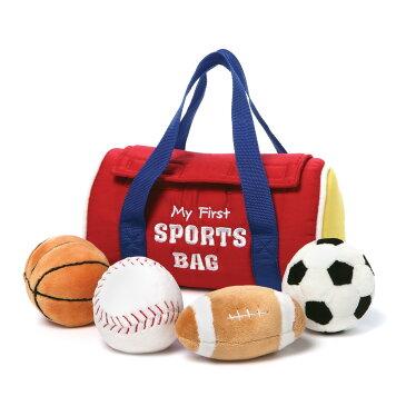ガンド GUND マイ 1st スポーツバッグ プレイセット 4048449 ボール ぬいぐるみ グッズ 音が出るおもちゃ 人形 キッズ ベビー 玩具 ギフト プレゼント 新品