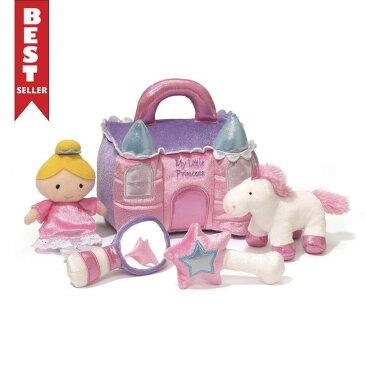 ガンド GUND プリンセス キャッスル プレイセット 4056520 お姫様 ユニコーン お城 ぬいぐるみ グッズ 人形 おもちゃ 知育 玩具 キッズ ベビー ギフト プレゼント 新品