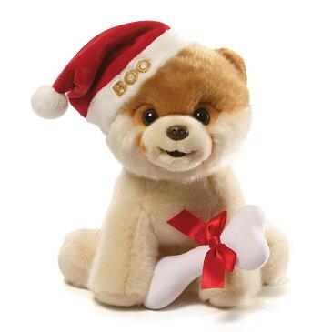 ガンド GUND Boo クリスマス 4058947 サンタクロース ポメラニアン 帽子 ぬいぐるみ 犬 グッズ いぬ Dog 人形 キッズ ベビー おもちゃ ギフト プレゼント 新品