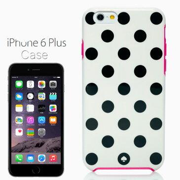 ケイト・スペード kate spade NEW YORK ケイトスペード レジン アイフォン 6/6s プラス アイフォン ケース 6/6s プラス ル パビヨン 6/6s プラス RESIN IPHONE CASE 6/6s PLUS LE PAVILLION 6/6s PLUS ホワイト/ブラック/ピンク WHITE/BLACK/PINK