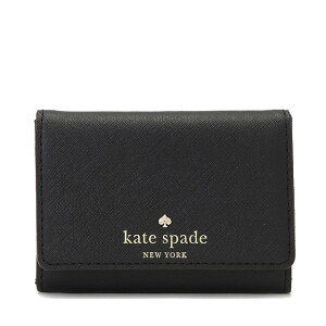 ケイトスペードCEDARSTREETDARLAキーリング付マルチケース(小銭入れ・定期入れ・カード入れ付)BLACK