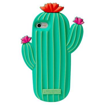 ケイトスペード kate spade iPhone7 アイフォン7 カバー ケース サボテン グリーン iphoneケース 7 アイフォンケース ブランド アイフォンケース7 おしゃれ シリコン 女子 ケース 面白可愛い iphone7 カバー プレゼント ギフト バレンタイン ホワイトデー クリスマス