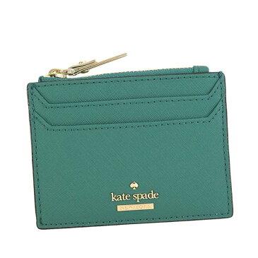ケイトスペード kate spade カードケース LALENA PWRU6202 344 グリーン コインケース マルチケース パスケース レディース 女性 プレゼント ギフト 新品