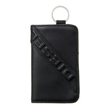 ディーゼル DIESEL X05369 PR160 T8013 キーリング付 キーケース ファスナー式小銭入れ BLACK ブラック