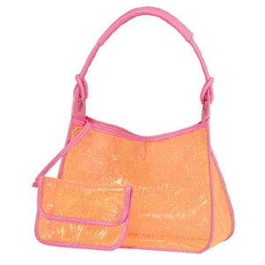 Dolce&Gabbana Dolce&Gabbana D&G Bag Shoulder Bag Tote Bag Ladies Brand Clear Pouch Orange Pink Rare New Brand Regular