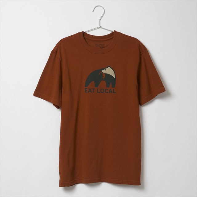 トップス, Tシャツ・カットソー  patagonia T 39062 RTSR Ms Eat Local Upstream Cotton T-shirt T Roots Red