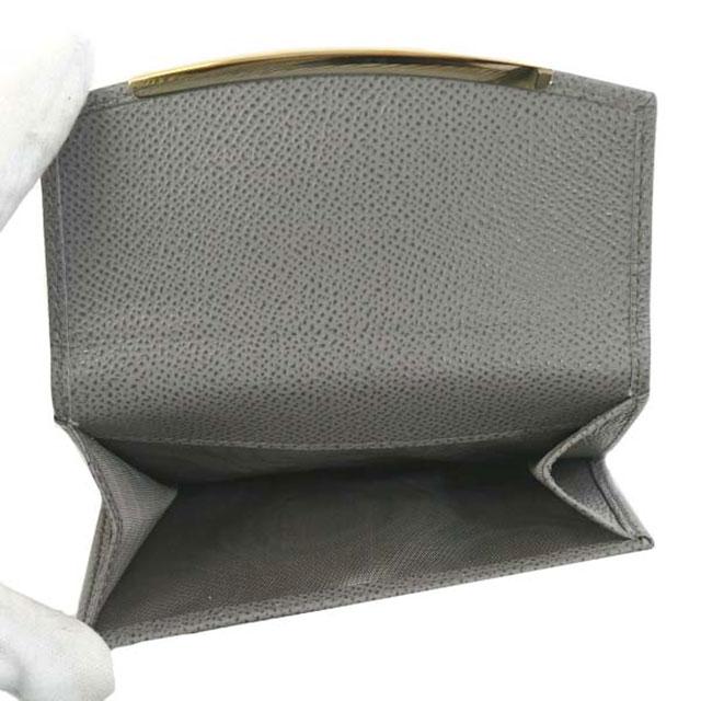 サルバトーレ フェラガモ Salvatore Ferragamo 財布 二つ折り 折りたたみ 財布 22C877 674001 ガンチーニ URBAN GREY グレー