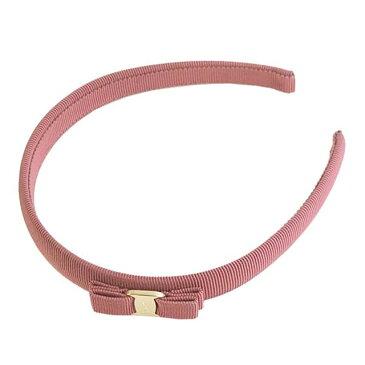 サルバトーレ フェラガモ Salvatore Ferragamo カチューシャ ヘアバンド 340086 698093 P.TA VARA PI ヴァラリボン WINTER ROSE ピンク系