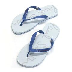 ポールスミス ビーチサンダル メンズ paul smith 靴 サンダル SHXG K454 EVA B42 SURF BLUE STRAP OFF WHITE FOOTBED M (日本サイズ:約25〜27cm)サーフブルー×ホワイト ブランド 男性用 紳士用 新品 未使用 正規品