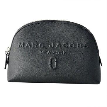 マークジェイコブス Marc Jacobs ポーチ 化粧ポーチ マルチケース M0013651-001 Logo Shopper Dome Cosmetic ロング ショッパー ドーム コスメティック Black ブラック