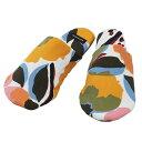 マリメッコ marimekko スリッパ ルームシューズ 室内履き Mサイズ 070281 130 ROSARIUM SLIPPERS ローズガーデン マルチカラー