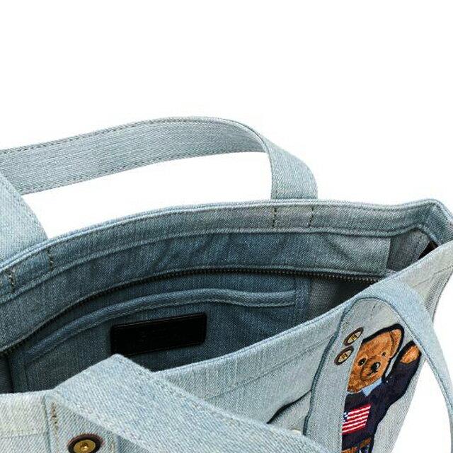 ラルフローレン Ralph Lauren ポロラルフローレン Polo Ralph Lauren ポロベア トートバッグ ハンドバッグ 428746176 001 オフホワイト クリーム