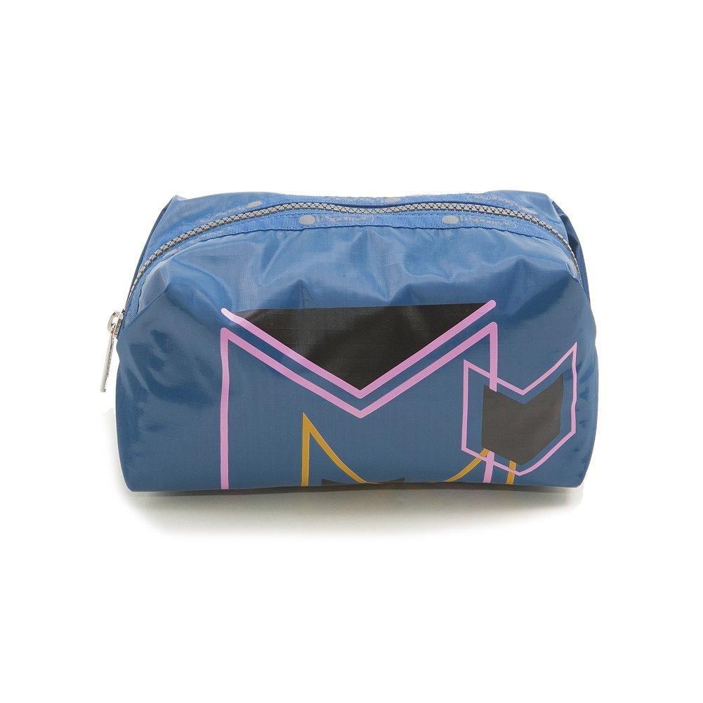 レディースバッグ, 化粧ポーチ  LeSportsac 8157 F367 MEDIUM PASSERBY COSMETIC ARROW MARKER BLUE