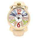 pierre talamon ピエールタラモン 腕時計 pt-5000-3 ビッグフェイス 手巻き式 カラーインデックス メンズウォッチ(ホワイト×ピンク) 送料無料